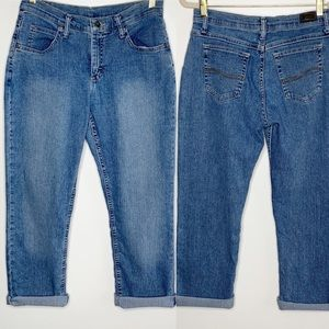 VTG Riders Lee Relaxed Straight Leg Mom Jeans 8P